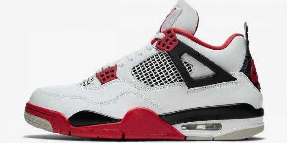 Where to Buy Best Price Air Jordan 4 Retro White Fire Red ?
