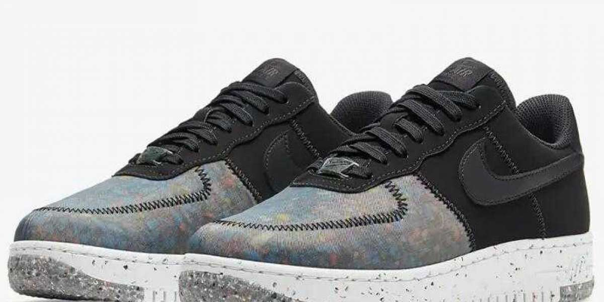 Will You Cop the New Nike Air Force 1 Crater Foam Black ?