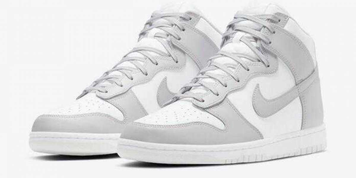 Nike Dunk High White Vast Grey To Arrive on January 14, 2021