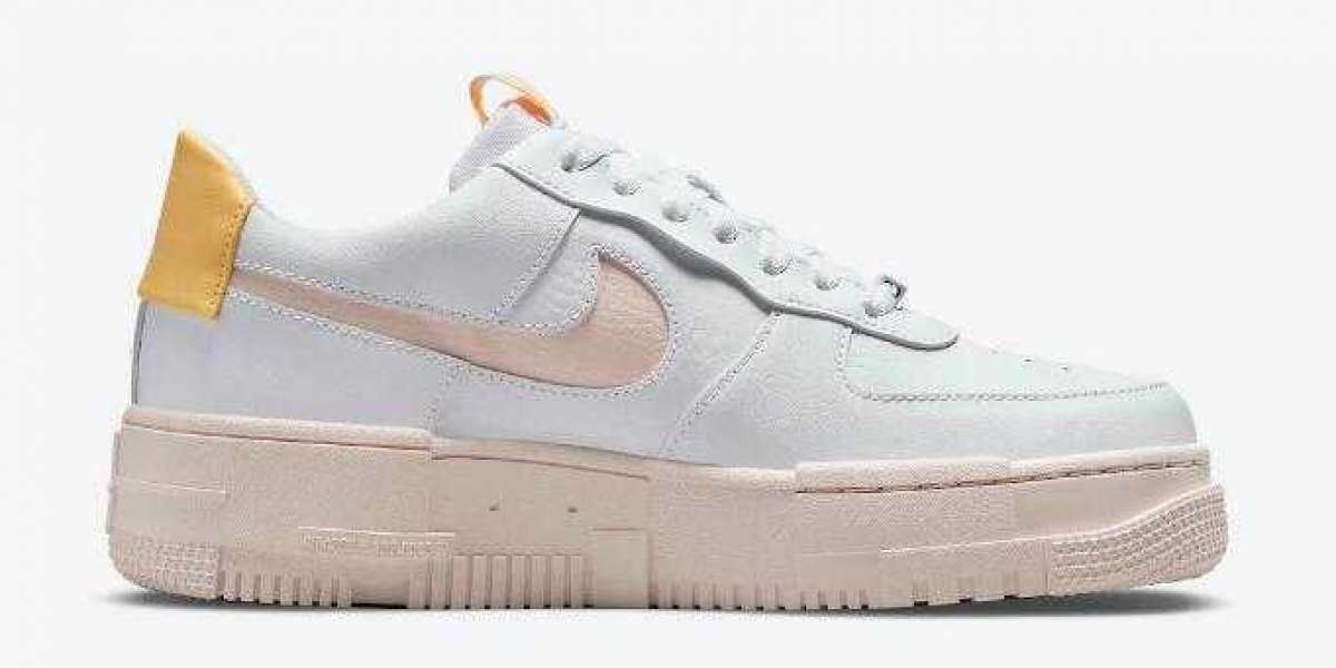 Nike Air Force 1 Pixel DM3054-100 Arctic Orange New Release