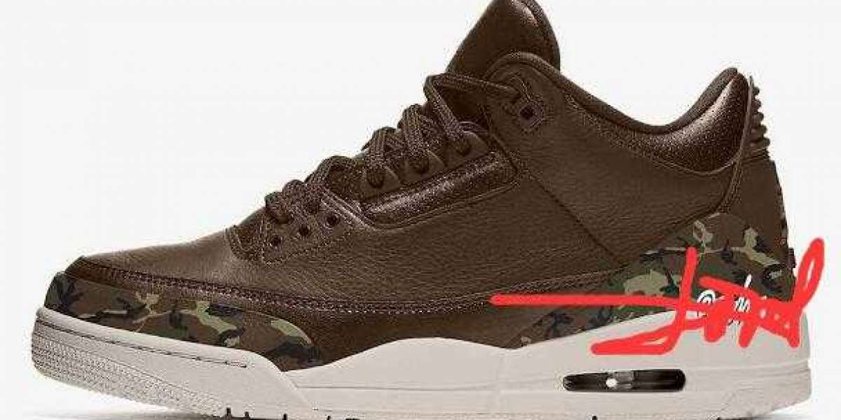 """Air Jordan 3 """"Camo"""" Will Release for the Holiday 2021"""